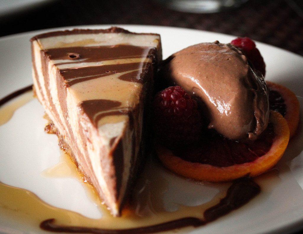 Vegan Blood Orange Chocolate Cheesecake - The Raw and The ...