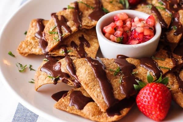 Chocolate Nachos