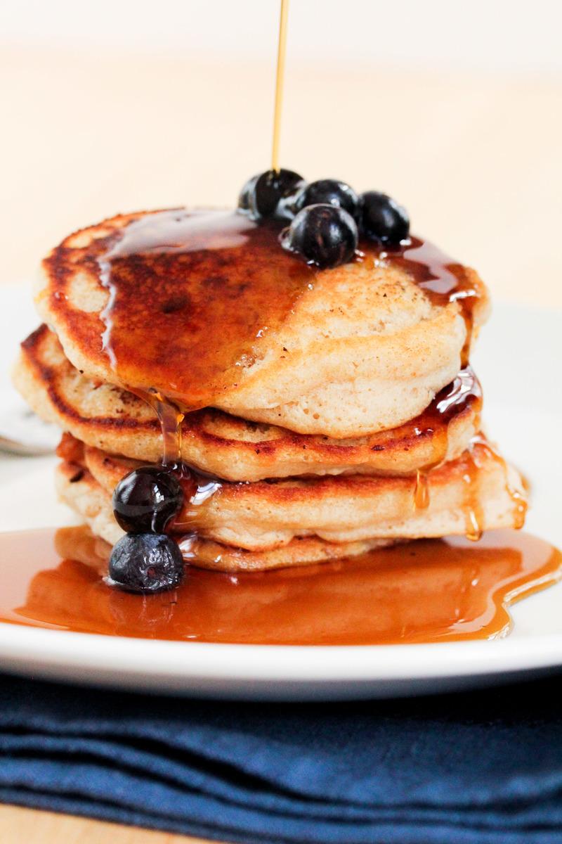 Pancakes morning, noon and night