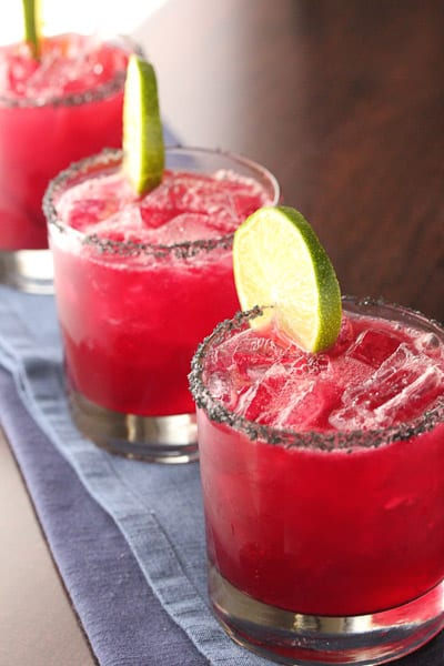 Pomegranate Hibiscus Margarita