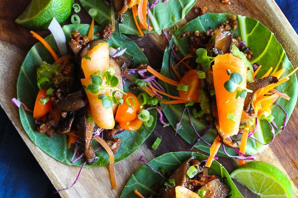 Raw Korean BBQ Tacos