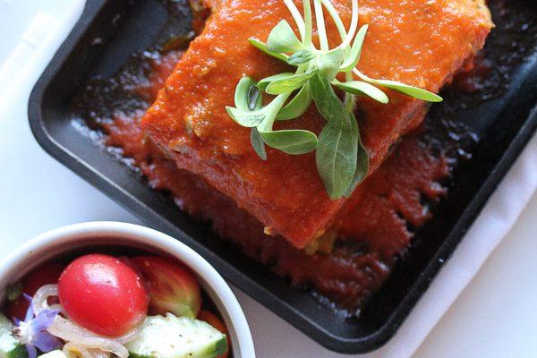 Vegan, gluten free lasagna