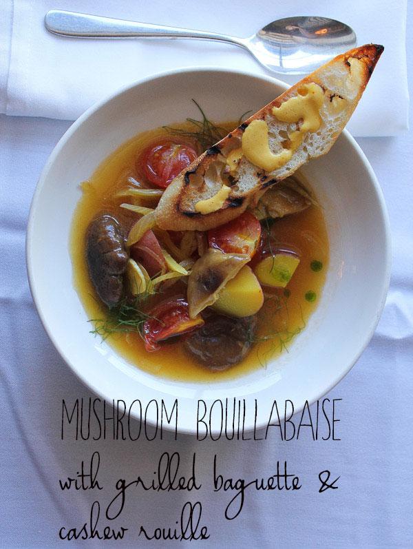 Mushroom Bouillabaisse