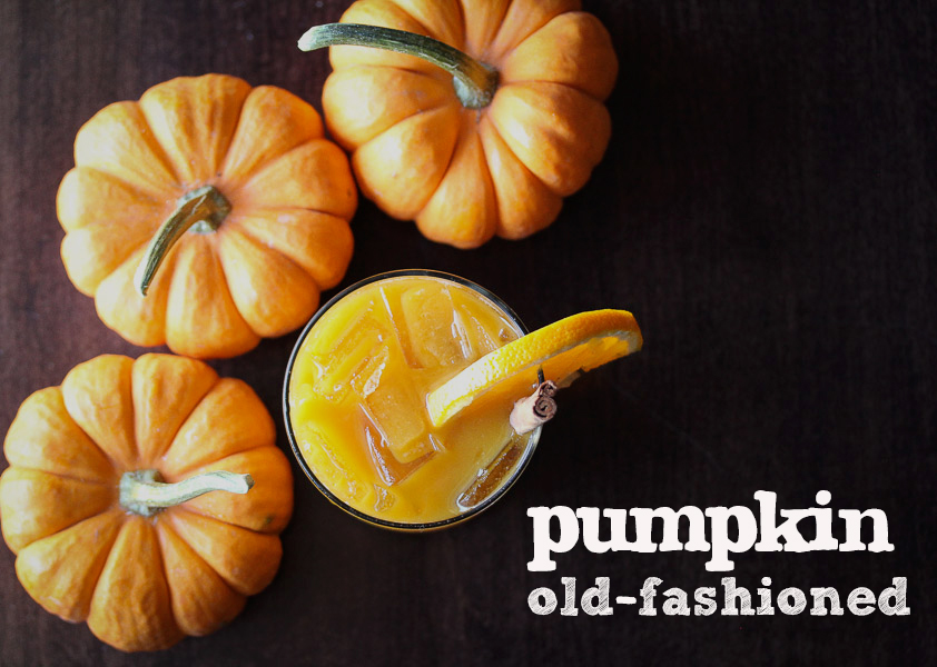 Pumpkin Old Fashioned