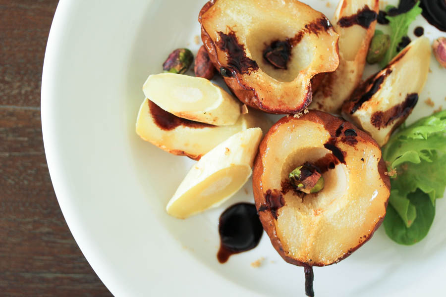Roasted Pear and Parsnip recipe
