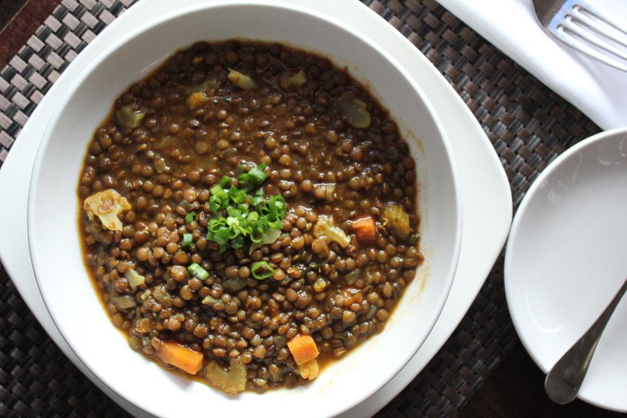 Tri-Colored Lentil Soup Recipe — Dishmaps