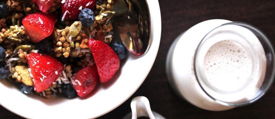 Buckwheat Granola Cereal