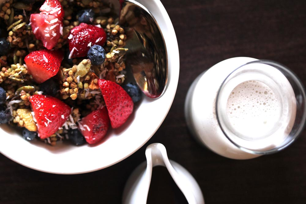 Buckwheat Granola Cereal