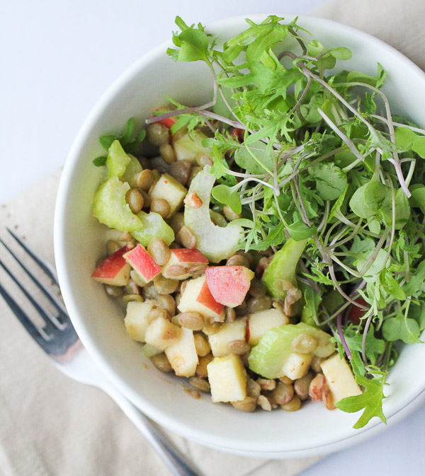 Lentil Apple Salad-2
