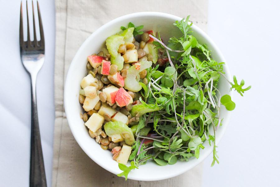 Lentil Apple Salad