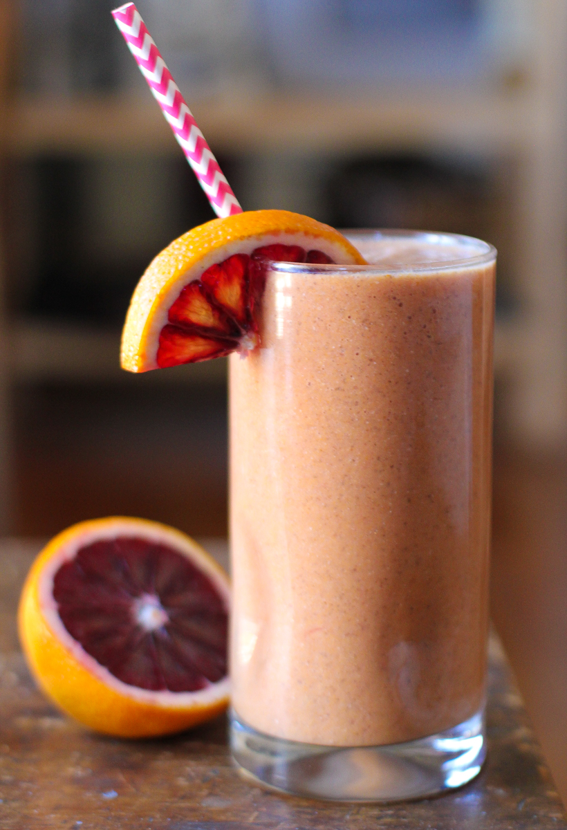 Blood Orange Chia Smoothie