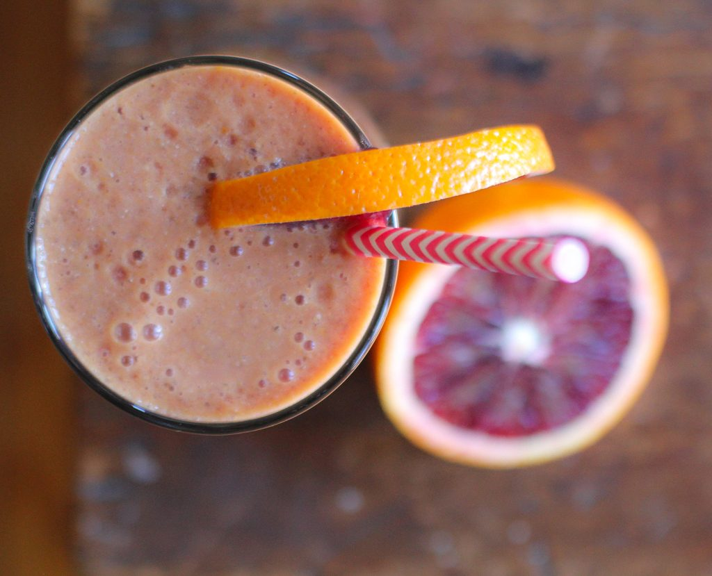 Blood Orange Smoothie-4