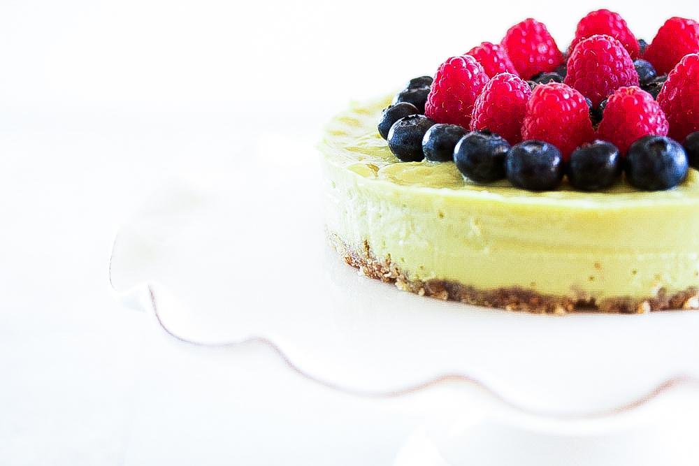 Key Lime Berry tart