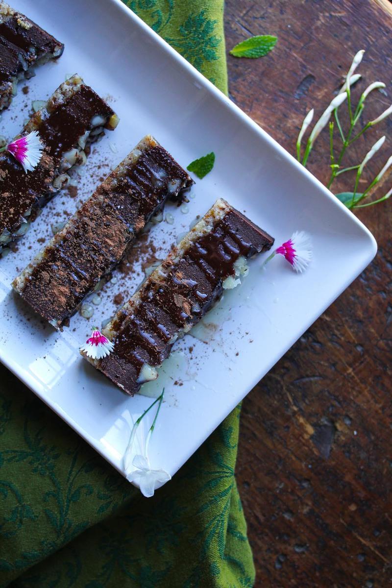 dark chocolate ganache