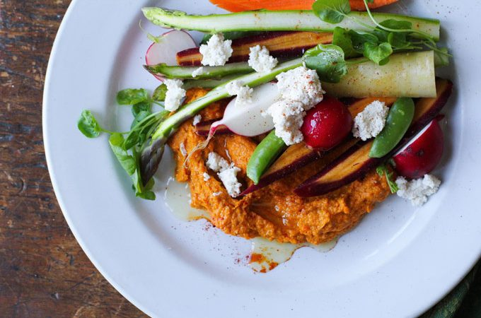 Roasted Carrot Hummus