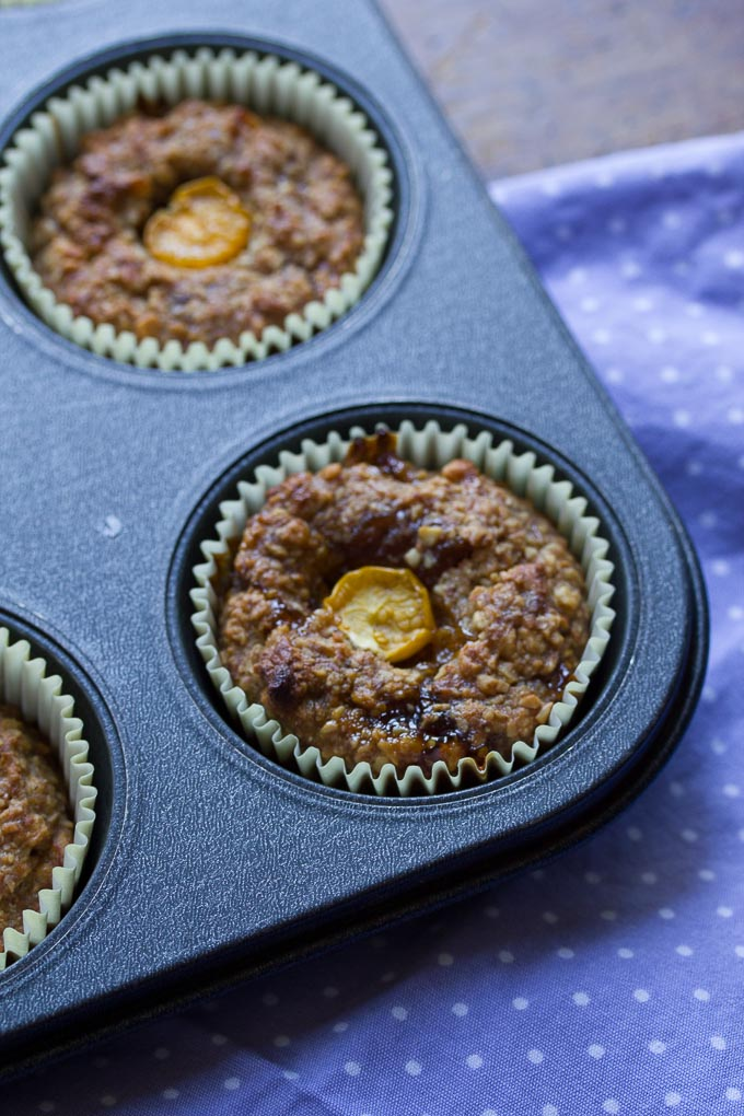 Gooseberry Almond Energy Muffins