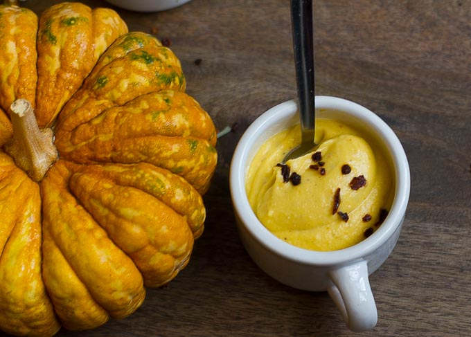 Winter Squash Cheese Sauce-vegan, oil free and made with just a few ingredients