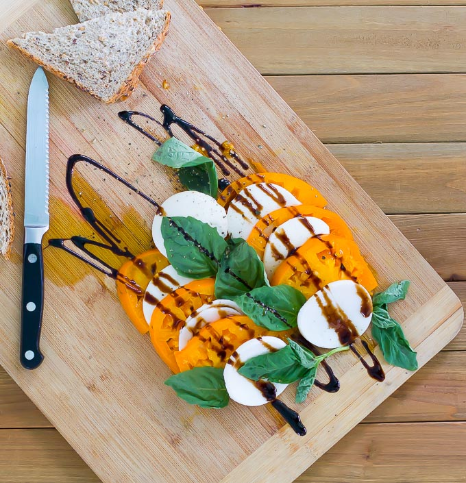 raw vegan caprese