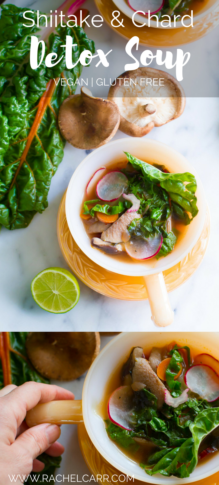 This Detox Soup is a great tonic in the winter months-it's chockful of healthy ingredients that will ground you, boost your immune system and supply you with an infusion of minerals and vitamins from the greens and sea vegetables. Have this soup for supper with some roasted sweet potatoes and you'll have a perfectly healthy weeknight supper.