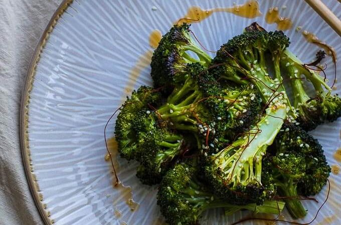 Crispy Sesame Broccoli