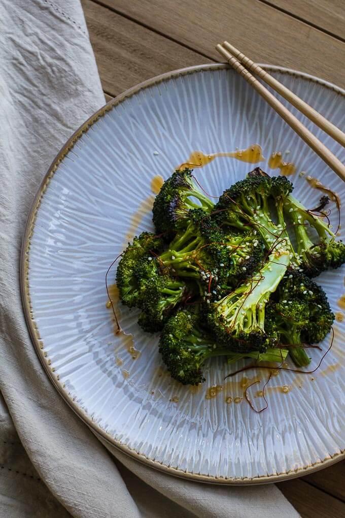 Crispy Sesame Broccoli