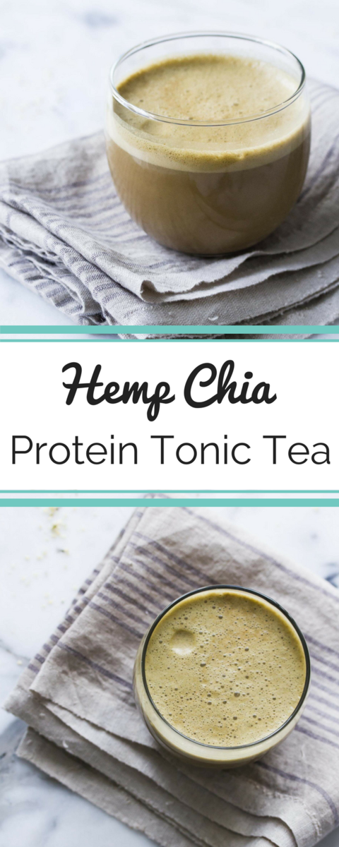 This tonic tea is a wonderful way to start your morning as an alternative to a sweet smoothie-it's warming and energizing, and will actually keep you from craving sweets all day!