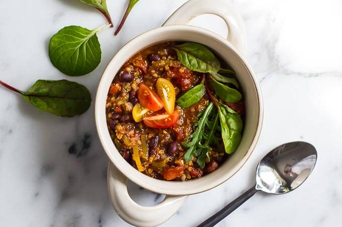 Millet Black Bean Chili