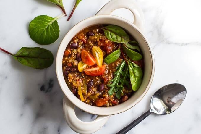 Millet Black Bean Chili
