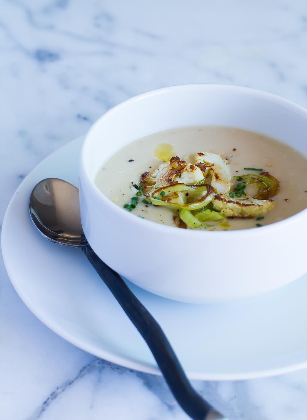 Vegan Cauliflower Soup