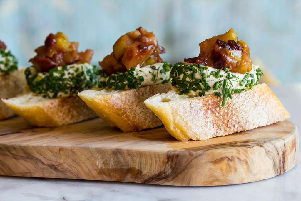 Vegan Cashew Chevre makes a delicious and healthy appetizer!