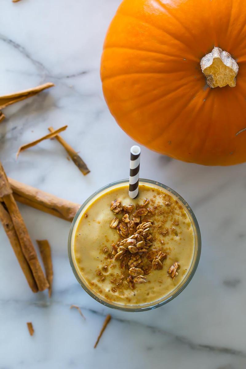 Vegan Pumpkin Spice Smoothie