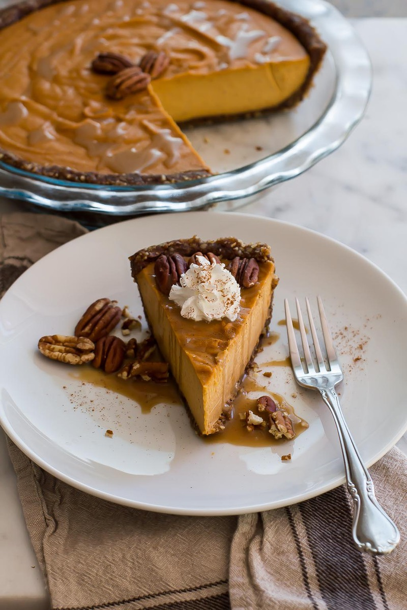 Vegan Sweet Potato and Pecan Pie