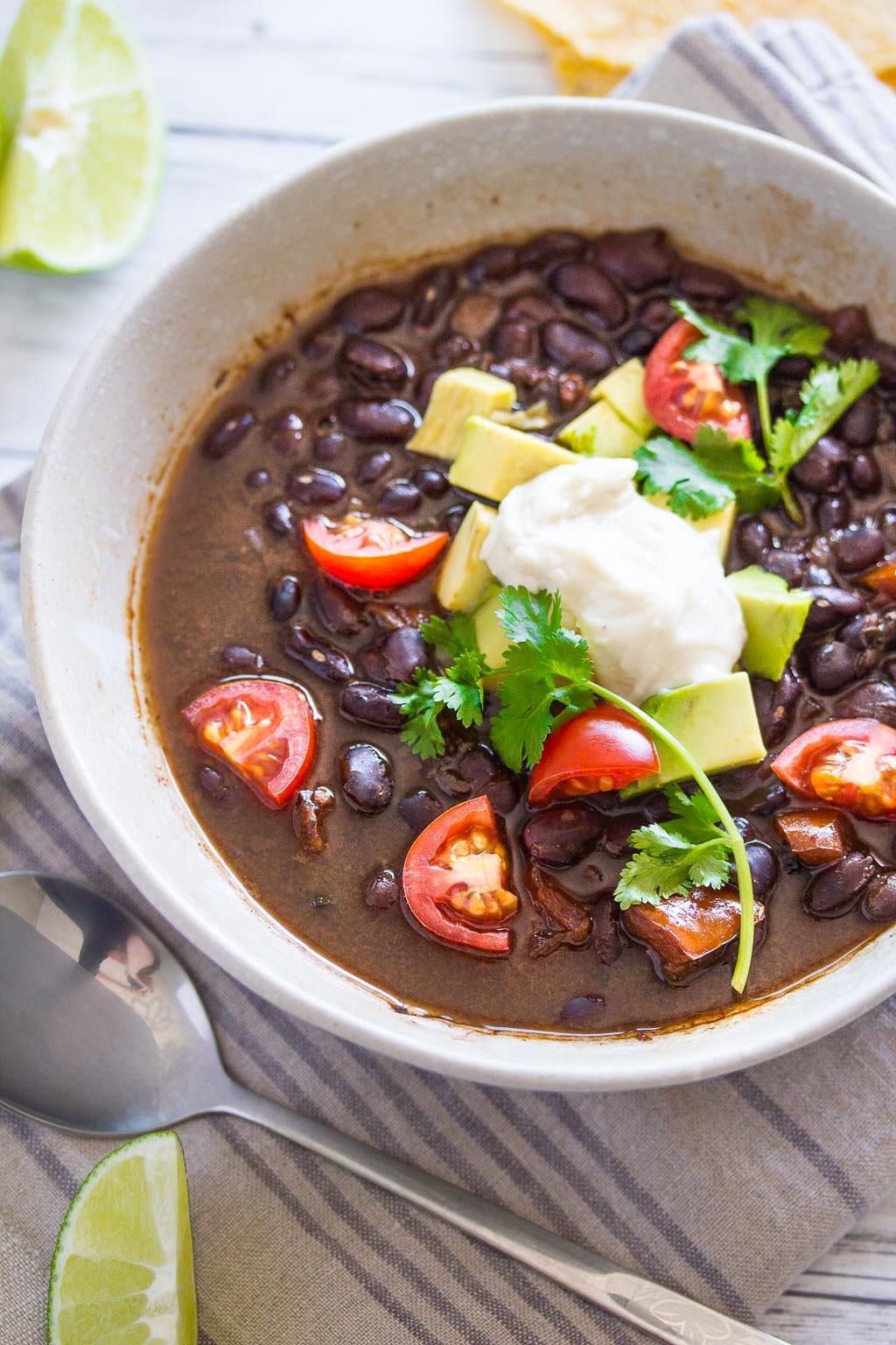 Vegan Chipotle Black Beans