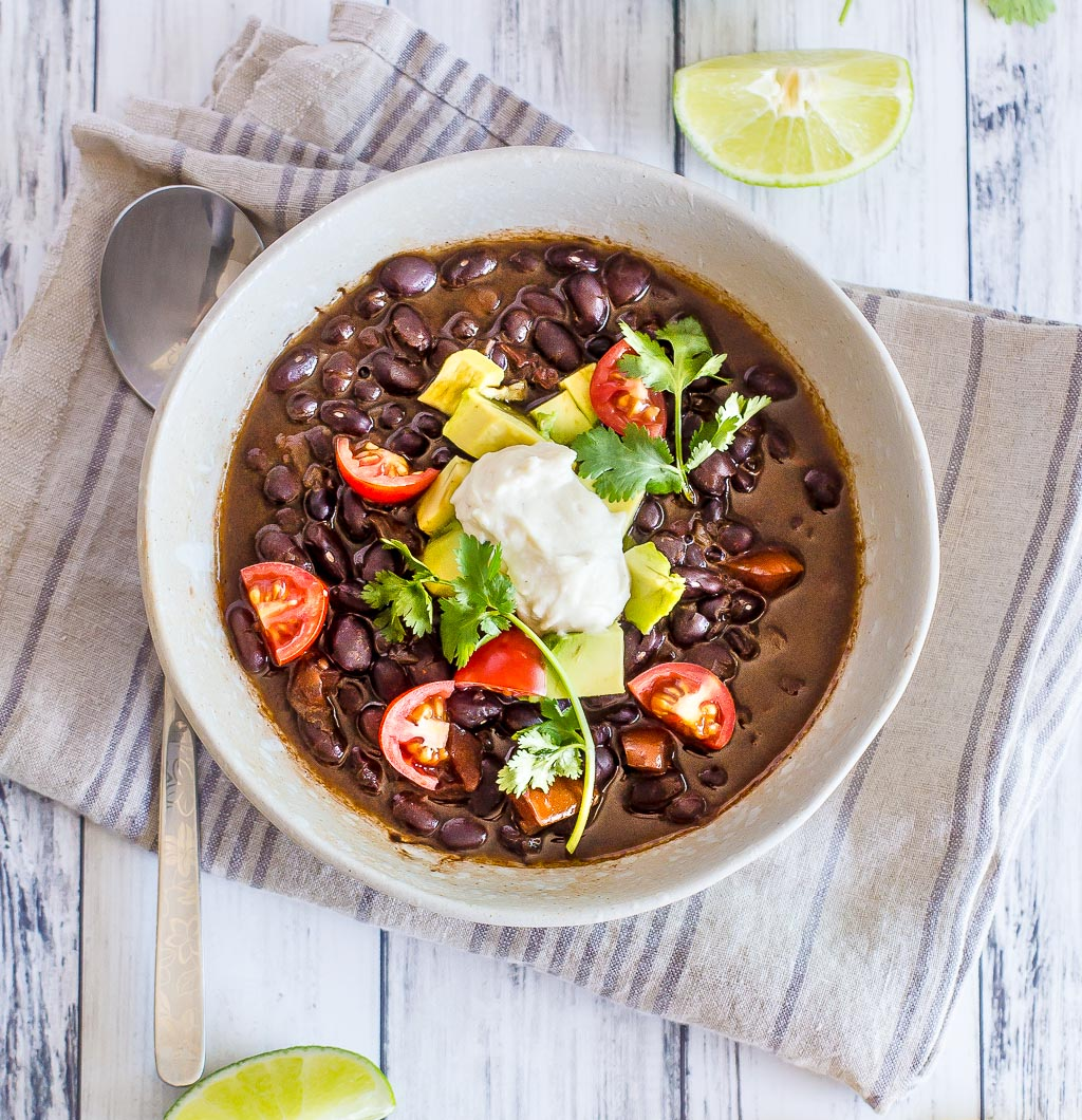 Vegan Chipotle Black Beans