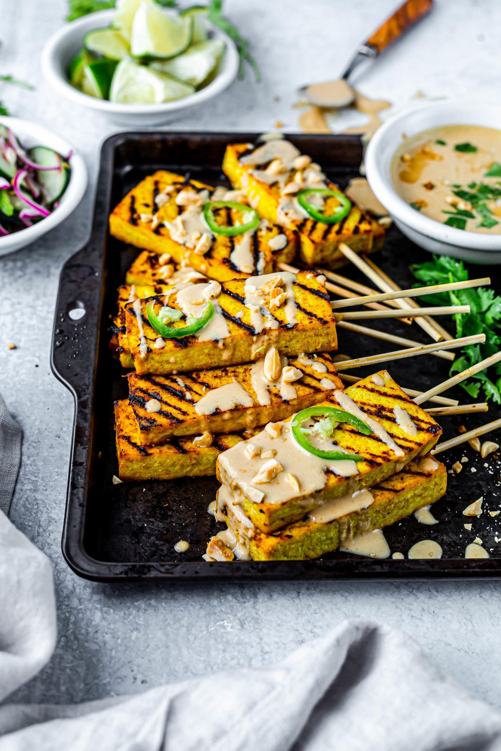 Vegan Tofu Satay